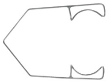 Katena Standard 10mm Wire Speculum small