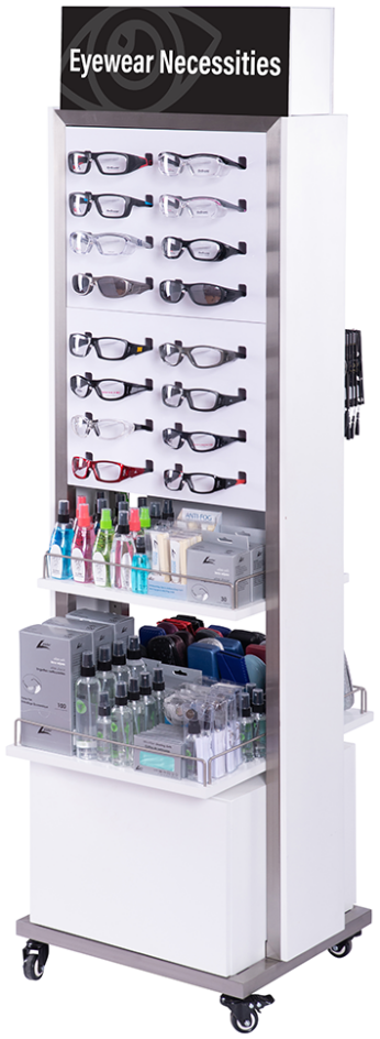 Display: Essentials II Special Eyewear/Necessities