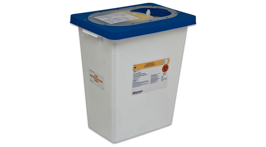 PHARMACEUTICAL WASTE CONTAINER 8 GALLON