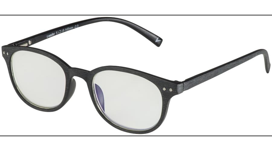 BLU-BAN GLASSES 7505 BRUSH BLACK +1.50