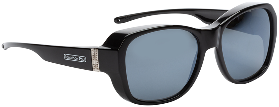 Jpe: Timeless Shiny Black Polarvue Grey