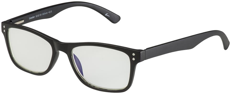 Blu-Ban Glasses 5505 Cecil Matte Black Plano