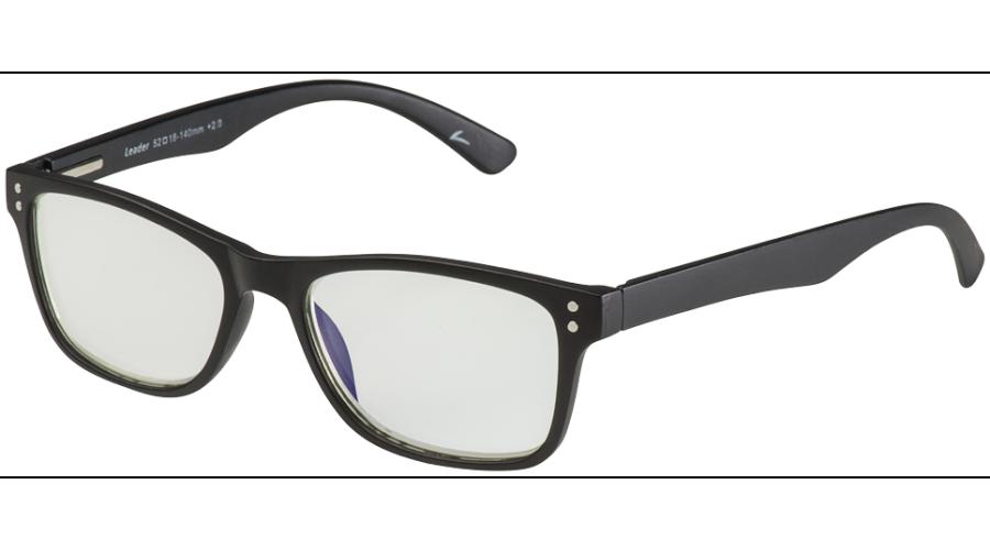BLU-BAN GLASSES 5505 MATTE BLACK +2.50