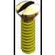 Nose Pad Screw, Gold, 25 Pcs. (slot)