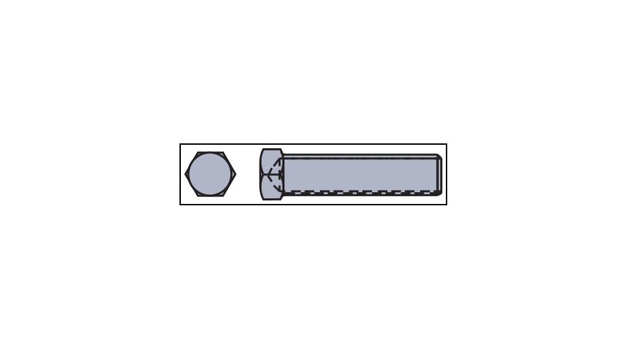 1.4 x 7 mm, Silver - 25 Pcs.