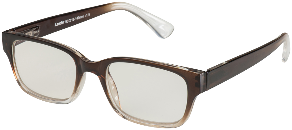 Blu-Ban Glasses 4505 Hintz Brown Fade Plano