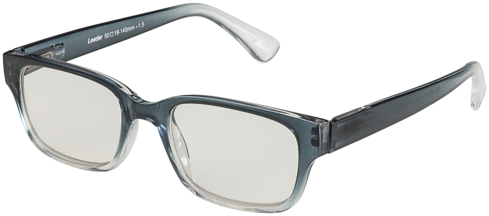 Blu-Ban Glasses 4505 Hintz Grey Fade Plano