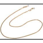 Snake Fashion Chain, Gold
