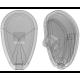 PAD: AIR 14.5MM SCREW-ON SI 5PR