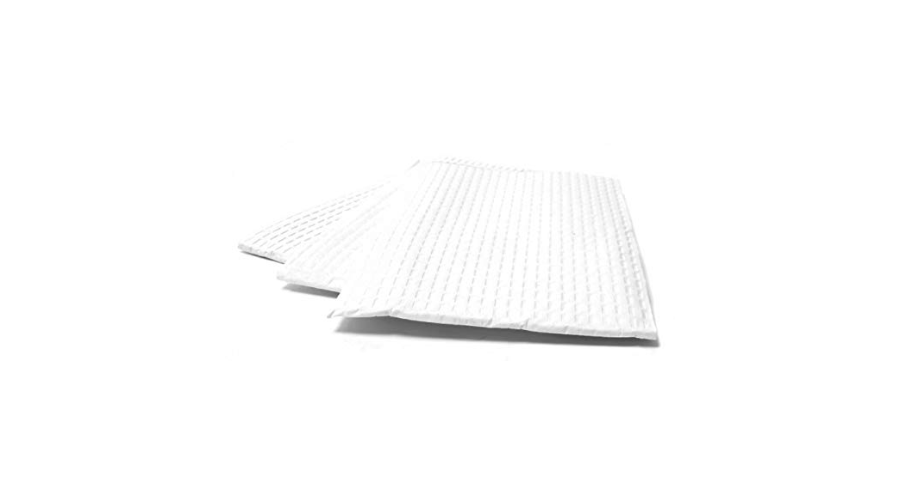 """Polybacked Towel White 3Ply Tissue/poly 13.5""""x18"""" 500/case"""