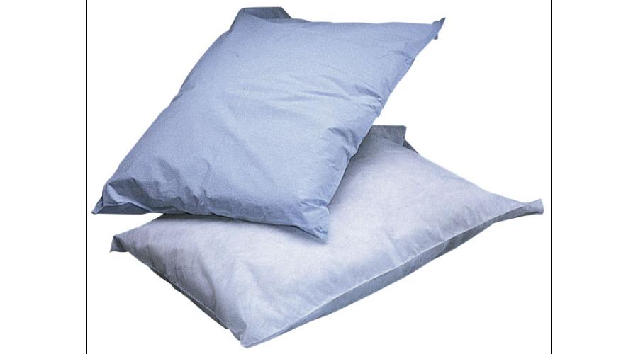 Disposable Pillowcases - White, Two Ply