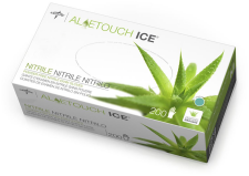 Aloetouch Ice Powder-Free Nitrile Exam Gloves