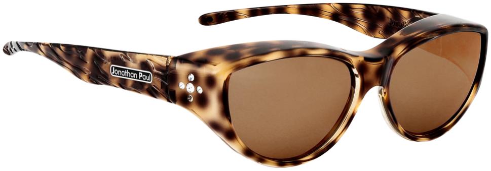 Jpe: Chic Kitty Brown Cheetah Polarvue  Brown
