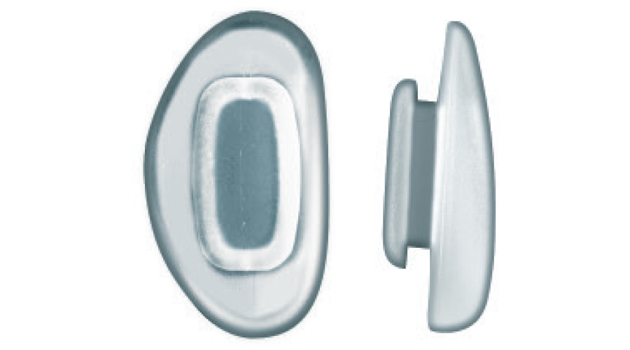 SYS-3 NOSE PADS 13MM SILI D - 10PR
