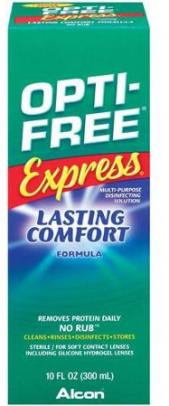 Opti-Free Express 10 Oz Ndc 30065-3144-50 300Ml No Rub