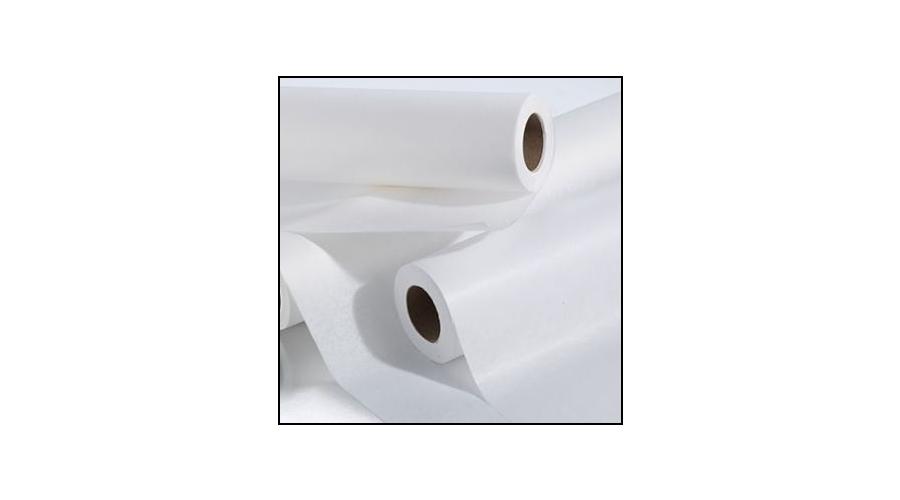 "Spa Essentials Drape Sheet 3 Ply 40"" X 72"" White"