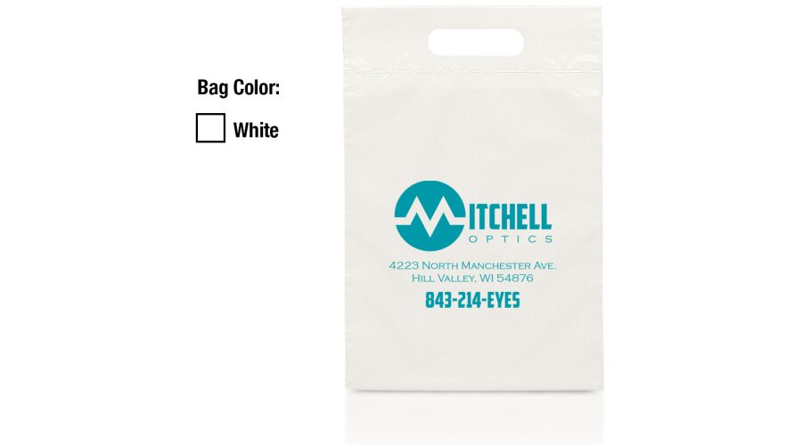 """9.5"""" X 14"""" Personalized Recycled Supply Bags"""