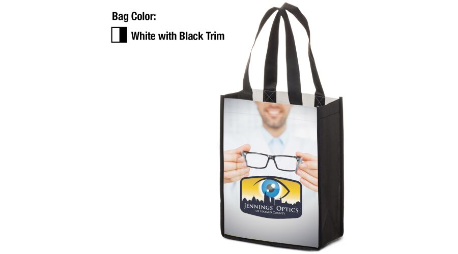 """8"""" X 10"""" X 4"""" Full Color Shopping Tote"""