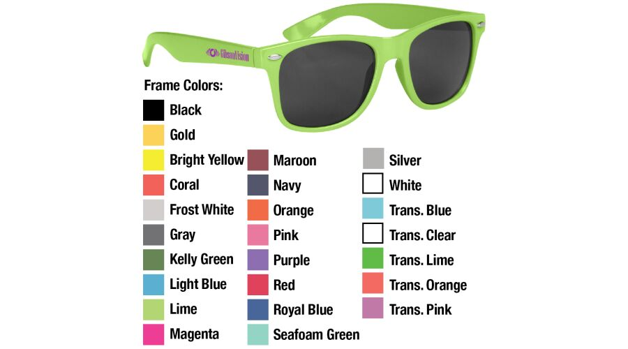 Malibu Promotional Sunglasses