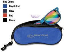 Eyeglasses/Sunglasses Pouch With Clip