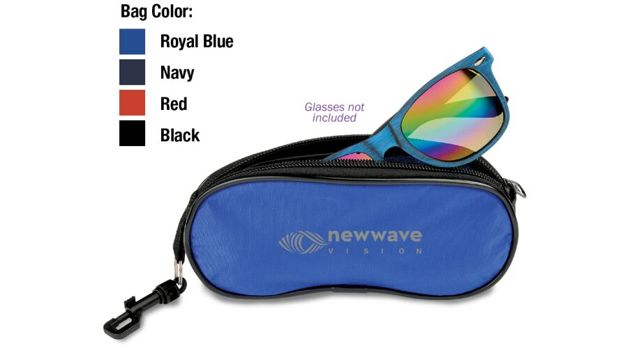 Eyeglasses / Sunglasses Pouch With Clip