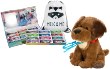 Milo & Me 24 Frame, Backpack & Spec Pet  Kit