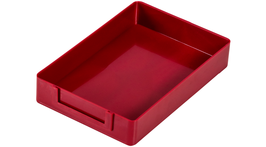 Standard Rx Tray: Red, 24/Case