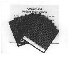 Magnetic Modified Amsler Grid