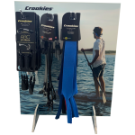 Croakies Counter Display & 22 Pcs