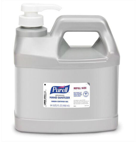 Orm-D Purell Advanced Hand Sanitizer 64Oz Pump