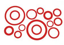 Intertip I/A O Rings