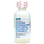 Lidocaine 2% Solution, 100ml