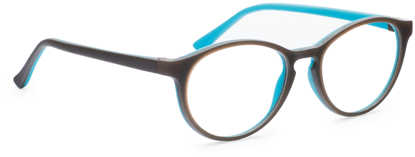 Milo & Me 85061 Brown / Light Turquoise 46-16