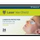 Disposable Laser Vee-Shields Bx24