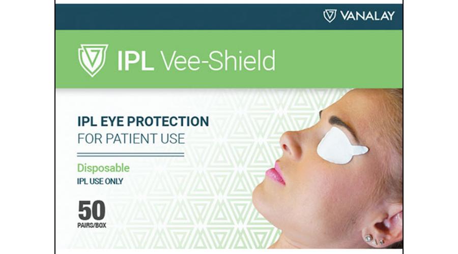 Disposable Ipl Vee-Shields Bx50