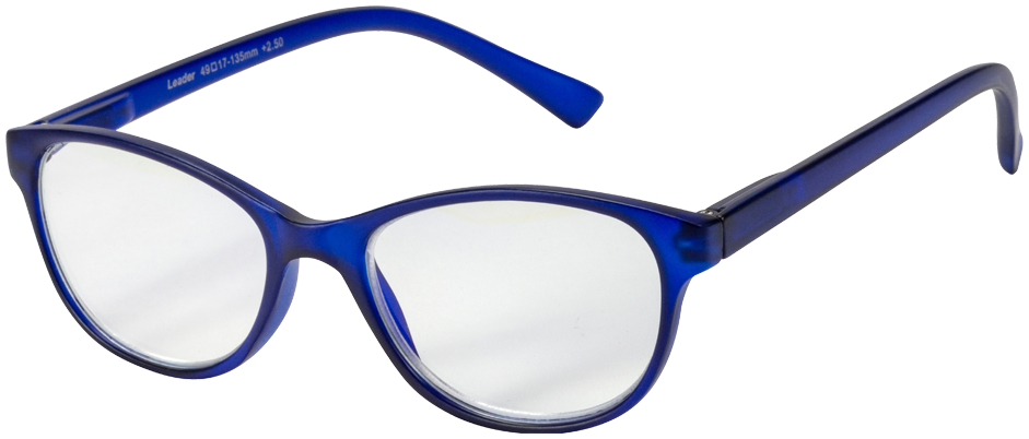 Blu-Ban Glasses Angelica Ink Plano