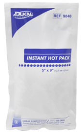 Instant Hot Pack Non-Sterile Disposable