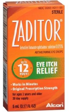 Zaditor Drops