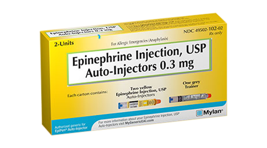 EPINEPHRINE AUTO INJECTOR 0.3MG (2 PACK ADULT)