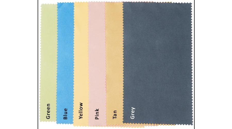 "Value Cloth 6"" x 7"", Yellow Bulk"