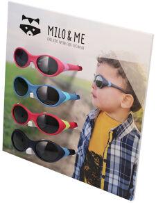 Milo & Me Sunglass Merchandising