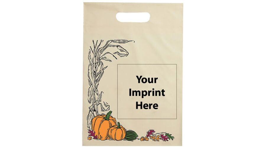 """12"""" X 15"""" PERSONALIZED SUPPLY BAG (AUTUMN)"""