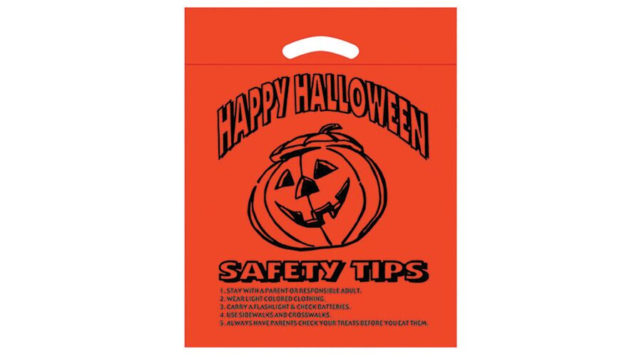 """12"""" X 15"""" PERSONALIZED SUPPLY BAG (HALLOWEEN)"""