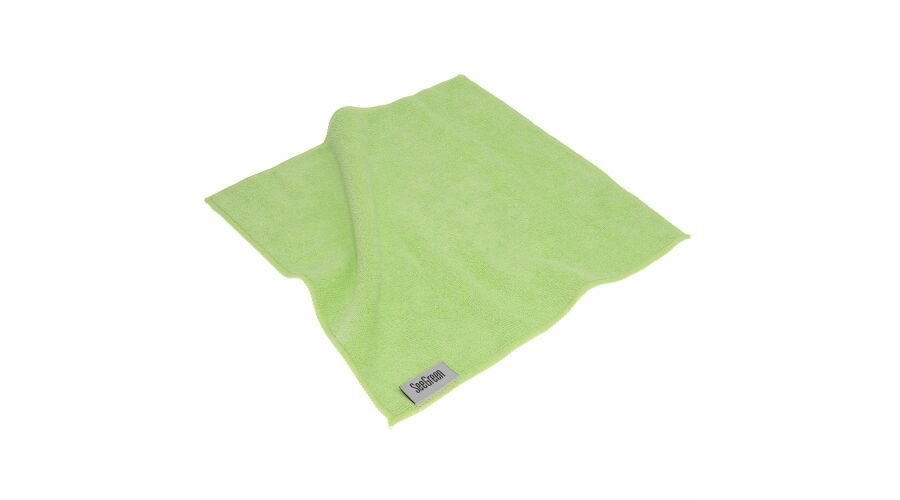 12X12 Anti-Microbial Terry Towel 12 Pack Green
