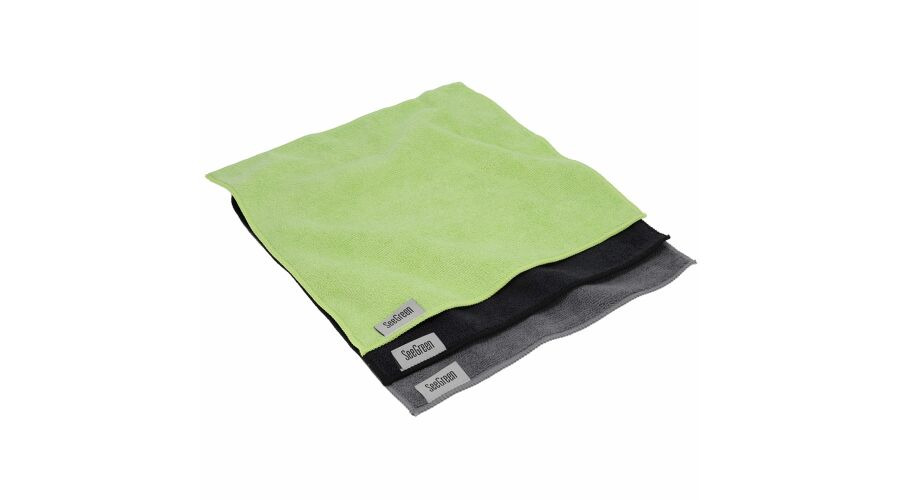 12X12 Anti-Microbial Terry Towel 12 Pack Mutli-Color