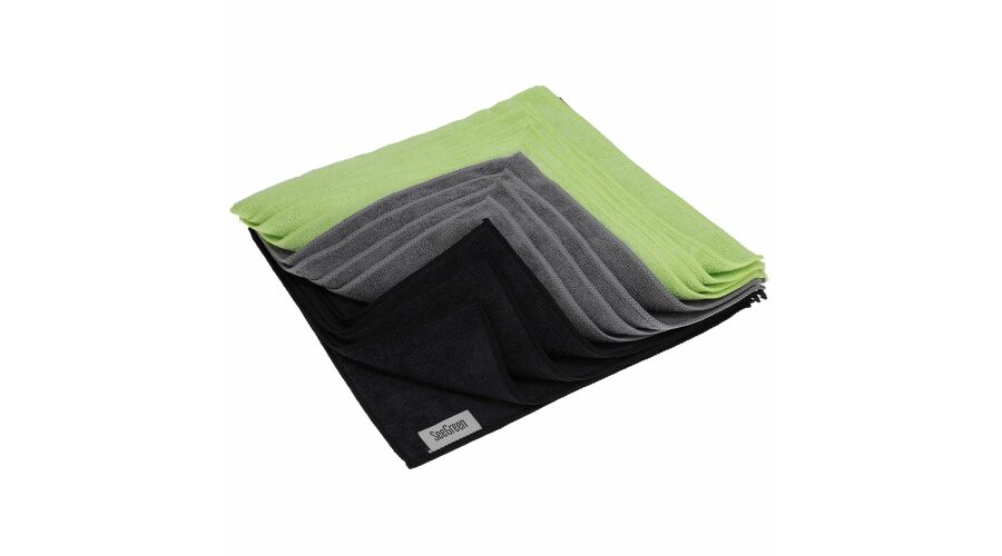16X16 Anti-Microbial Terry Towel 12 Pack Mutli-Color