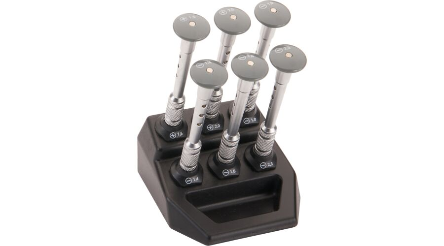 6 PLACE SCREWDRIVER STAND SET