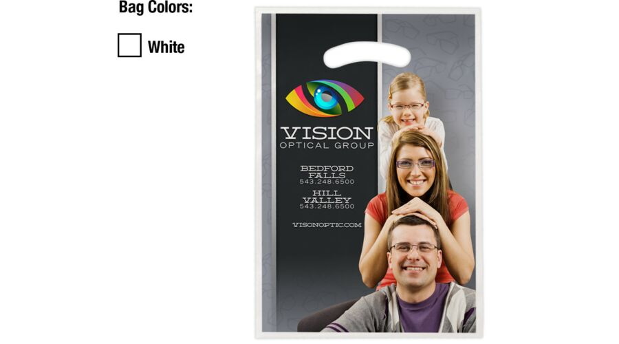 """9"""" X 13"""" PERSONALIZED FULL COLOR SUPPLY BAG"""