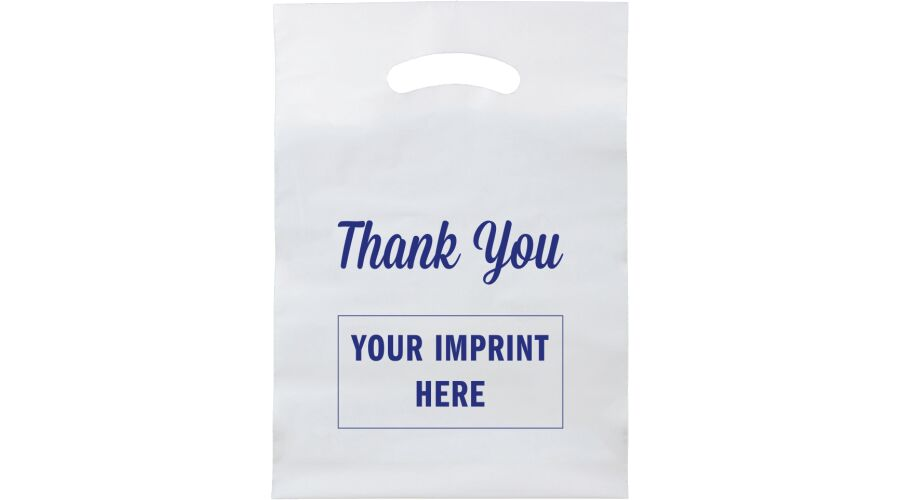 """9"""" X 13"""" PERSONALIZED SUPPLY BAG (THANK YOU)"""