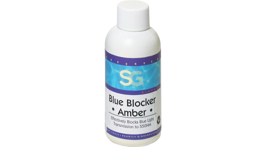 BB1:BLU BLOCK1,AMBR,4 OZ